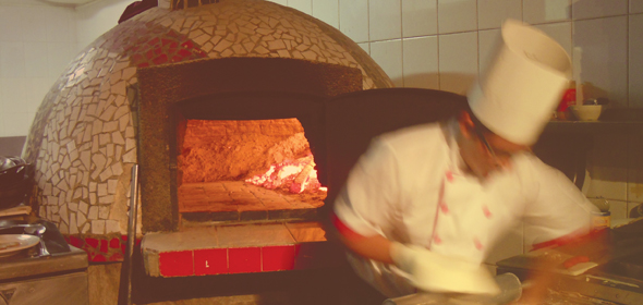 Vittore for Horno de piedra para pizza